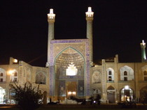 Mosque in Isfahan - www.countrybagging.com