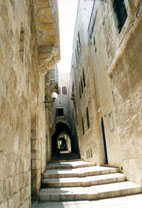 The backstreets of Jerusalem - www.countrybagging.com