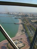 From Kuwait Tower - www.countrybagging.com