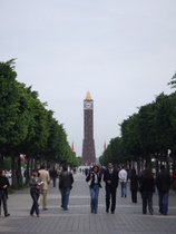 Tunis Clock Tower - www.countrybagging.com