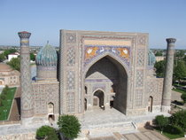 The Registan, Samarkand - www.countrybagging.com