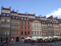 Warsaw old town - www.countrybagging.com