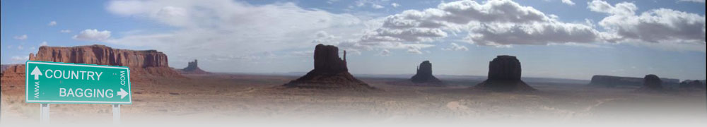 Monument Valley, USA - countrybagging.com