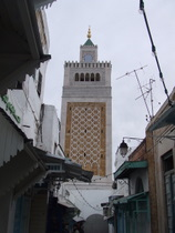 Mosque in the Medina - countrybagging.com