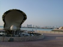 The Pearl Monument, Doha - countrybagging.com